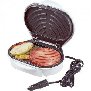 Koolatron 401596 12V Drive N Grill with Removable Drip Tray