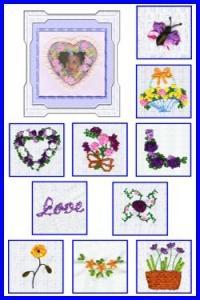 Down Home Dreams DHD02-03 Silk Ribbon Embroidery Lesson