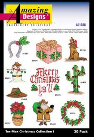 Amazing Designs / Great Notions1286 Tex Mex Christmas I Multi-Formatted CD CD