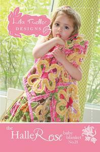 Lila Tueller 93 3541 Halle Rose Baby Blanket Pattern