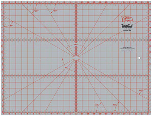 "Grace TrueCut GCM1218 Gridded Cutting Mat 18x24"" for Rotary Cutters"