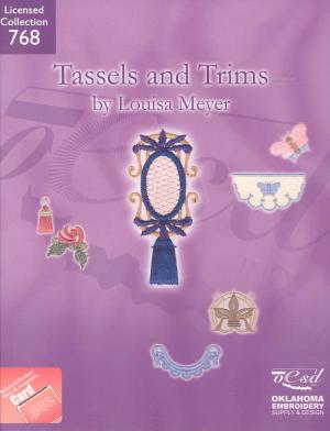 OESD 768 Tassels And Trims By Louisa Meyer in Brother .PES Format