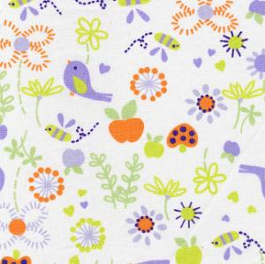 "Fabric Finders 15 Yd Bolt 9.34 A Yd FF1034 Floral  100% Pima Cotton 60"" Fabric"