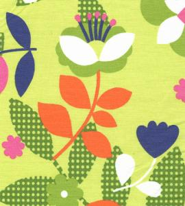 Fabric Finders 15 Yd Bolt 9.34 A Yd #1025 Large Floral  100% Pima Cotton 60""