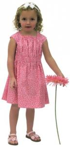 Childrens Corner CC278 Juliet Is A Girls Dress With A Square Neckline Pattern sz 4-6