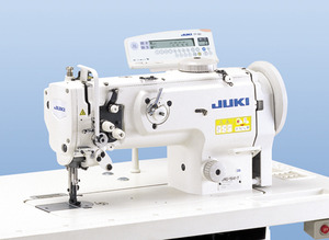 Juki DNU1541-7 Walking Foot Needle Feed Sewing Machine and Stand with Auto Backtack, Foot Lift, Needle Position, and Thread Trimnohtin