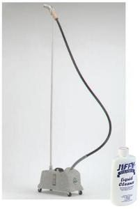 Jiffy, J-4000DM, Heavy Duty, Drapery, Fabric Steamer, 1500W, with 7.5' Hose, & Metal Steamhead, Made in USA,  Helps Freshen, Remove Odors, & Wrinkles
