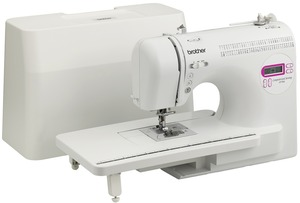 Brother CP-7500, 70/110 Stitch, Computer, Sewing, Quilt Machine, CP7500, Extension Table, Walking Foot, Free Motion, 8 Feet, 7x1-Step Buttonholes, Threader