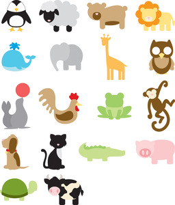 SLICE 36493  Design Card, Animal Frenzy