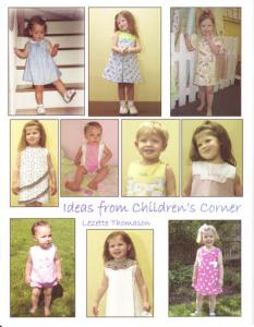 Childrens Corner B508 Ideas Book: Johnny Lillian Lucy Blair Frannie FrannieBaby, Adelaide/Kathy Lettie/Carol/Lucy MaryDe/Lucy Taylor/Jackson Patterns