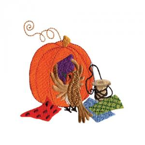 Amazing Designs  ADC 206 Pumpkin Patch Jumbo Embroidery Designs