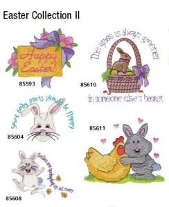 Great Notions 1290 Easter Collection IIEmbroidery Multi- Formatted CD