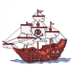 Amazing Designs  ADC 101J Plundering Pirates Jumbo Embroidery Designs