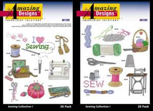 Amazing Designs / Great Notions  1292 Sewing I Multi-Formatted CD