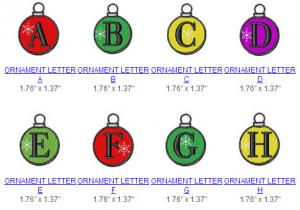 Great Notions 112455 Ornament Alphabet Multi-Formatted CD Embroidery Designs