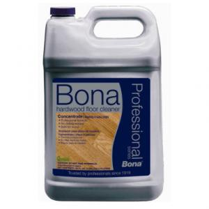 Bona WM700018176 Hardwood Floor Cleaner, 1 Gallon Concentrated Solution Makes 8 Gallons, No Dulling Residue Safe for Wood, Used on NBA and NCAA Courts