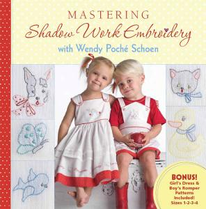 Wendy Schoen Mastering Shadow Work Embroidery Book plus 7 Designs