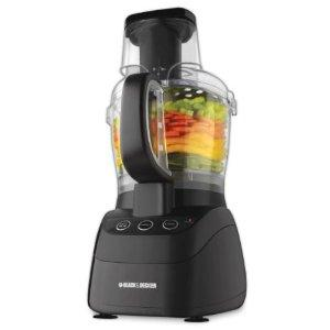 Black & Decker FP2500B Power Pro Wide-Mouth Food Processor Machine