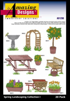 Amazing Designs / Great Notions 1298 Spring Landscaping Collection I Multi-Formatted CD