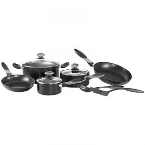 Mirro A838sa64 Get A Grip Nonstick 10 Piece Cookware Set