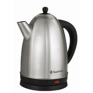 Russell Hobbs RH13552 1.7 Liter Electric Kettle, Stainless Steel