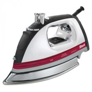 Shark GI435 Professional Electronic Iron 1500W, Extended Steam Burst, Stainless Steel Soleplate, Rubberized Grip, SelfClean AutoOff, 8'Cord, AntiCalc