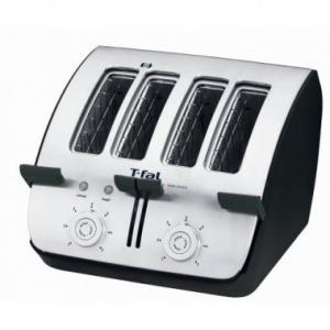 T-fal TT7461002 Avant� Deluxe 4-Slice Toaster, Black