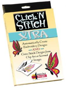 Amazing Designs Click 'N Stitch XTRA Digitizing Software System - AD-CNSX