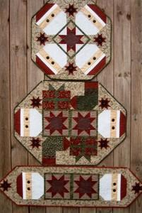 Suzanne's Art House Patterns SAH159 Santa Toppers Pattern