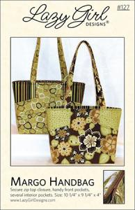 Lazy Girl Designs  934247 Margo Handbag Sewing Pattern