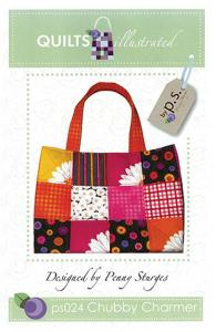 Quiltsillustrated   93-3244 Chubby Charmer Tote Pattern