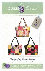 Quiltsillustrated 93-3248 Charm Party Tote Pattern