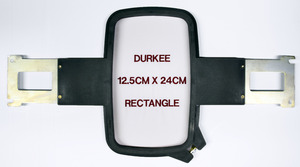 "Durkee PR12.5x24cm 5x9"" Hoop Frame & Brackets for Brother PR600, PR1000, PR1050X, Babylock 6-10 Needle Embroidery Machines"