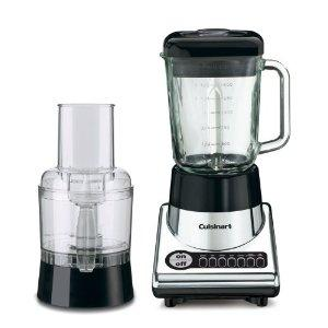 Cuisinart BFP-10CH BFP Power Duet Blender/Food Processor, 7 Speed, Touchpad Controls, 56oz Glass Jar