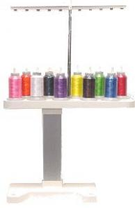 Brother, SA503, 10-Spool, Thread Stand, for using 1100 yard, or less Thread Spools for Embroidery, Sewing Machines