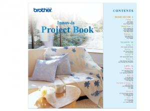 Brother SANVBK1 Innov-is Project Book 64 Pages in Full Color, 82 Designs CD in PES Format for NV500 to NV6750, VM Series