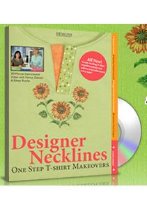 Designs, in, Machine, Embroidery, Designer, Necklines, by, Nancy, Zieman, and, Eileen, Roche