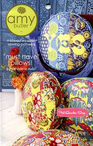 Amy Butler Designs ABD050MH  Must Have Pillows Sewing Pattern