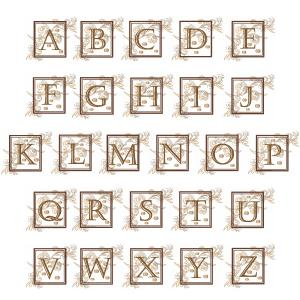 Great Notions 112439 Home Dec Scroll Alphabet, 2 Sizes Are Included Multi-Formatted CD-Roms,
