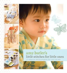 Amy Butler 44196 Little Stitches for Little Ones Soft cover book, 9 x 7