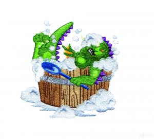 Amazing Designs ADP103 Dragon Whimsy Some Designs Are Bigger Than 4X4