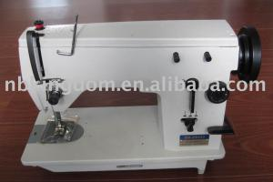 "PD60 P20U33-3 HEAD ONLY Straight Stitch 9mm ZigZag Flatbed 15 3/4x7"" Metal Sewing Machine, LCR Needle Pos, Knee Lever, BobbinWind OilWick (Singer 20U)"
