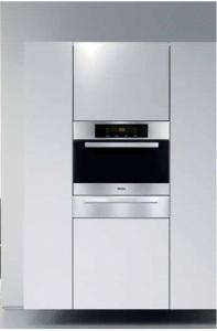 "Miele H4086BM Convection Speed Oven, 24"", Built-In, MasterChef Series, Stainless Steel"