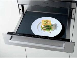 "Miele ESW4086-14 Convection Warming Drawer, 24"", Europa Series, Prefinished, Clean Touch Stainless Steel"