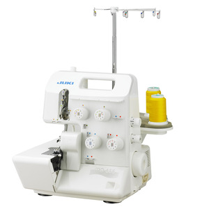 Juki MO-655/DE Pearl Serger 5-4-3-2 Thread Overlock, Straight Safety Chain Stitch, 2 or 3 Thread Rolled Hems. Differential Feed, 0% Finance Available*