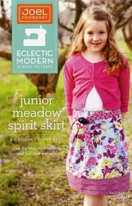 Joel Dewberry JD002MJ  Eclectic Modern Junior Meadow Spirit Skirt Pattern Sizes: 4-16