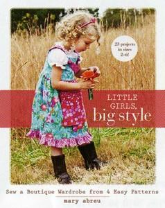 Mary Abreu, 10770 Little Girls, Big Style Book