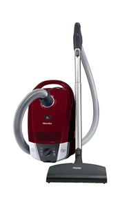 Miele S6270 Topaz Canister Vacuum,6 Position Suction,12 Stage AirClean System,1,200W Vortex Motor,Telescopic Stainless Steel Wand,Electrobrush Control