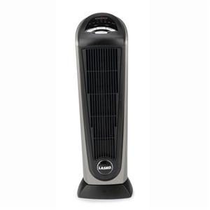 Lasko 751320 Ceramic Tower Heater with Remote Control, Widespread Oscillation, Electronic, Programmable Thermostat, 7hr Timer, Self Regulating Element