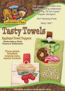 Dakota Collectibles F70451 Tasty Towels Toppers  Multi-Formatted CD